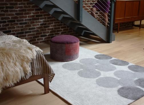 Flicker rug