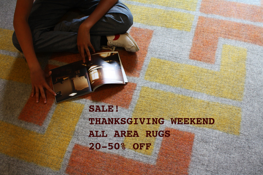 Thanksgiving Weekend   Off All Area Rugs