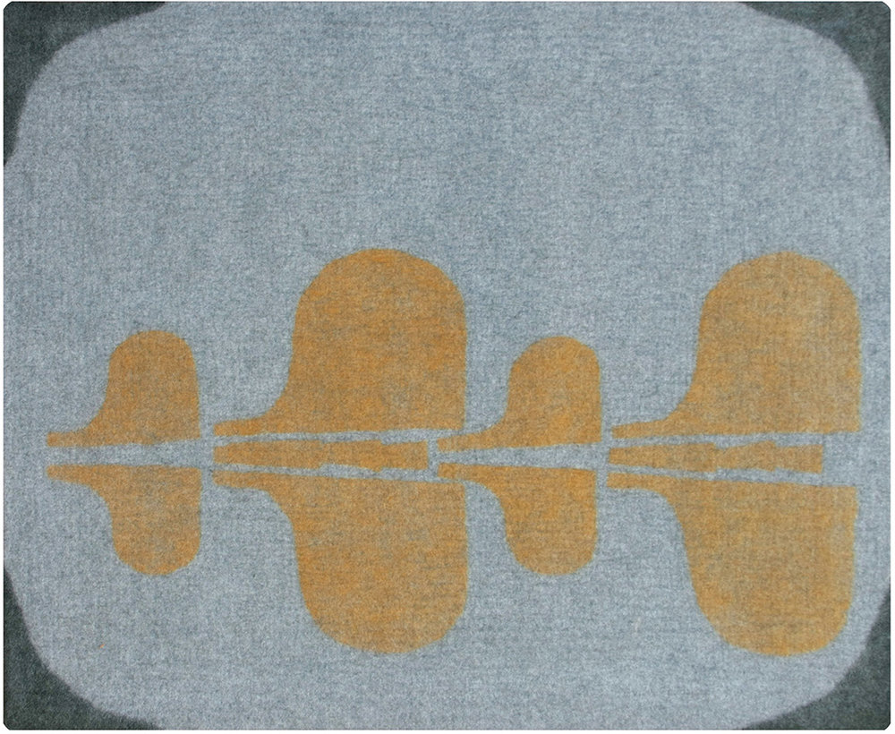 6x8  gray/ochre/nori