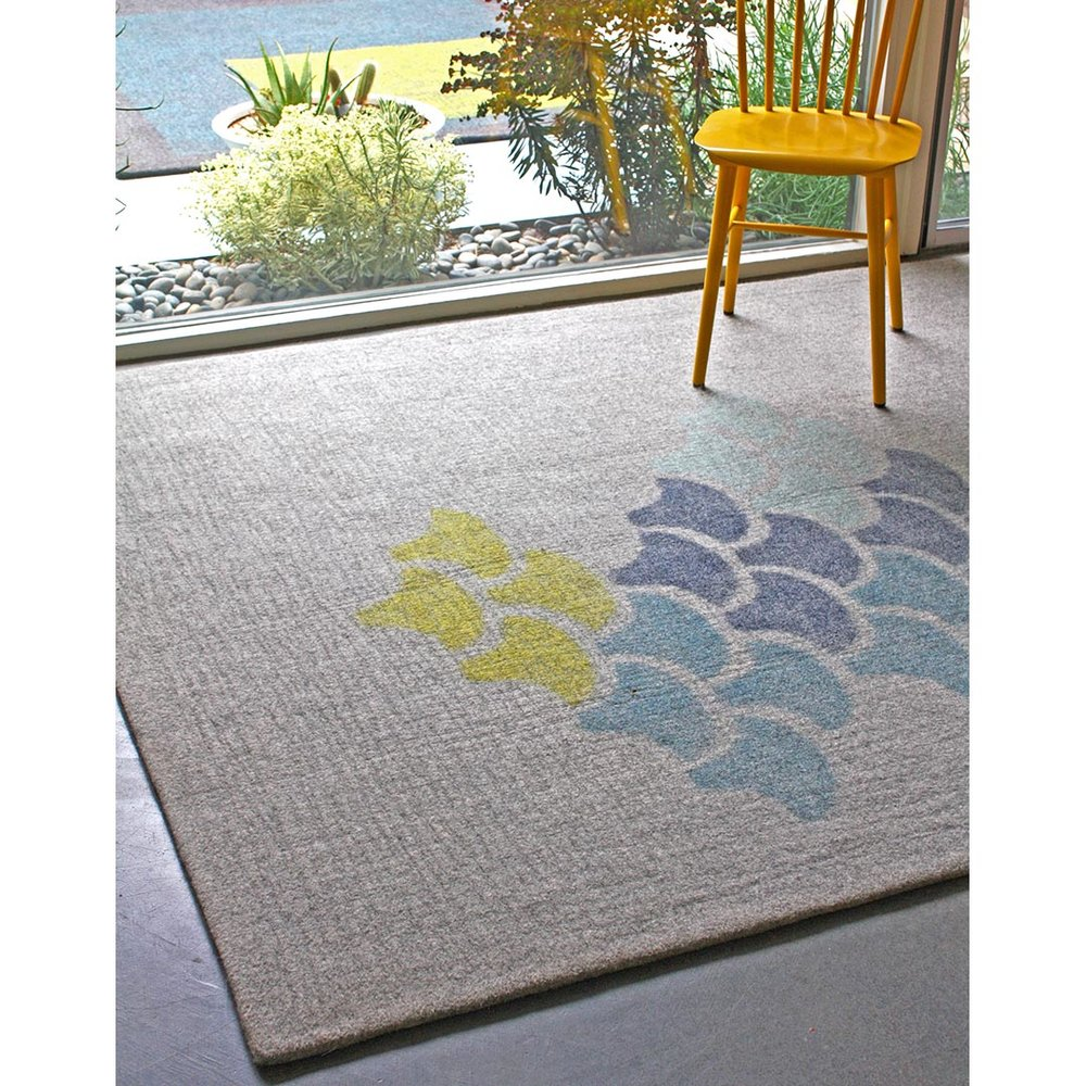 Fishskall rug