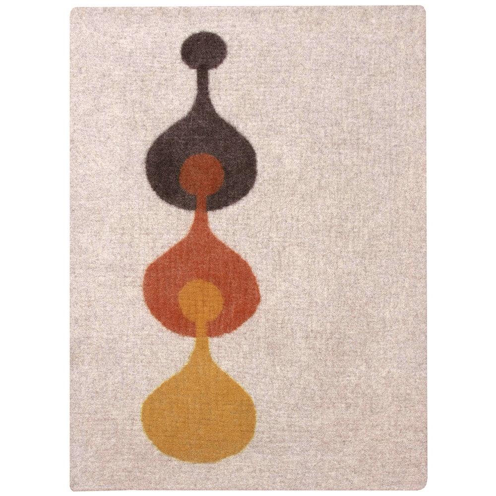 4x6  camel/saffron/nutmeg