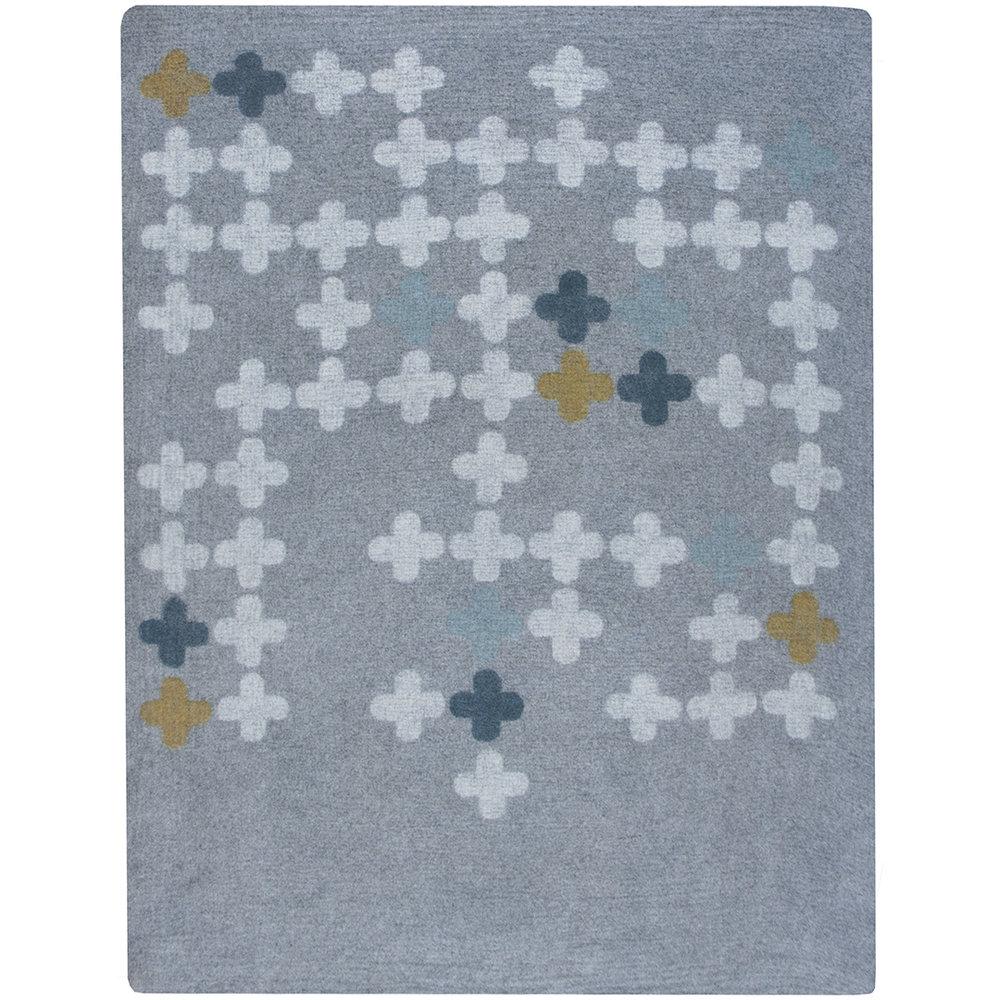 8'x10'  gray/cream/spring/marine/aqua
