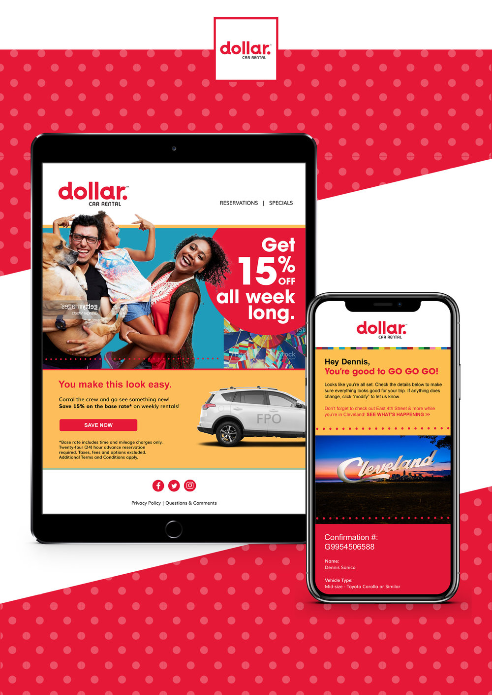 DOLLAR CAR RENTAL BRAND REFRESH