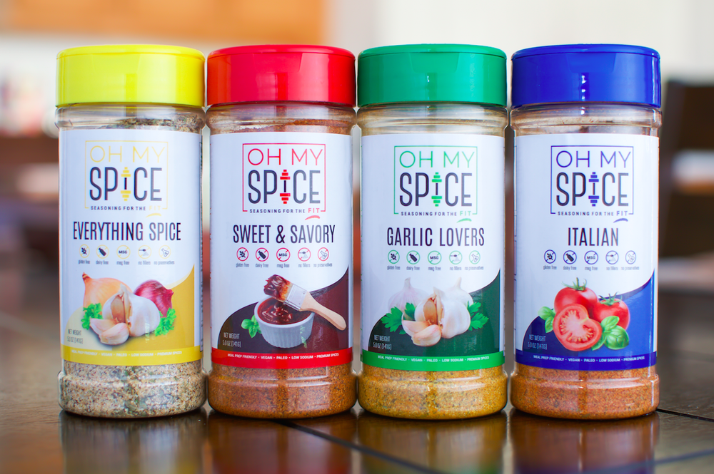 OH MY SPICE PACKAGING :: LAYOUT + PRODUCTION
