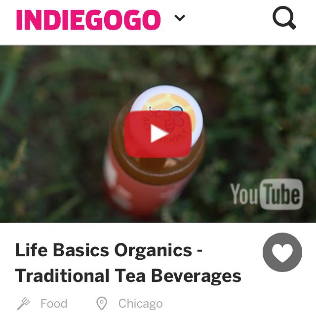 We are live!! We launched a #crowdfunding campaign to take our traditional tea beverages to the national level in new 16oz bottles. Please take a moment to visit our campaign page. (link in bio) http://bit.ly/itslifebasics #honey #organic #local #wisconsin #beefriendly #organicfarm #tea #icedtea #organictea #fairtrade #nongmo #healthydrink #gmofree #foodie #startup #premiumtea #conscious #consciousness #yoga #ayurveda #wellness #fitness #nutrition #pilates #freedom #love