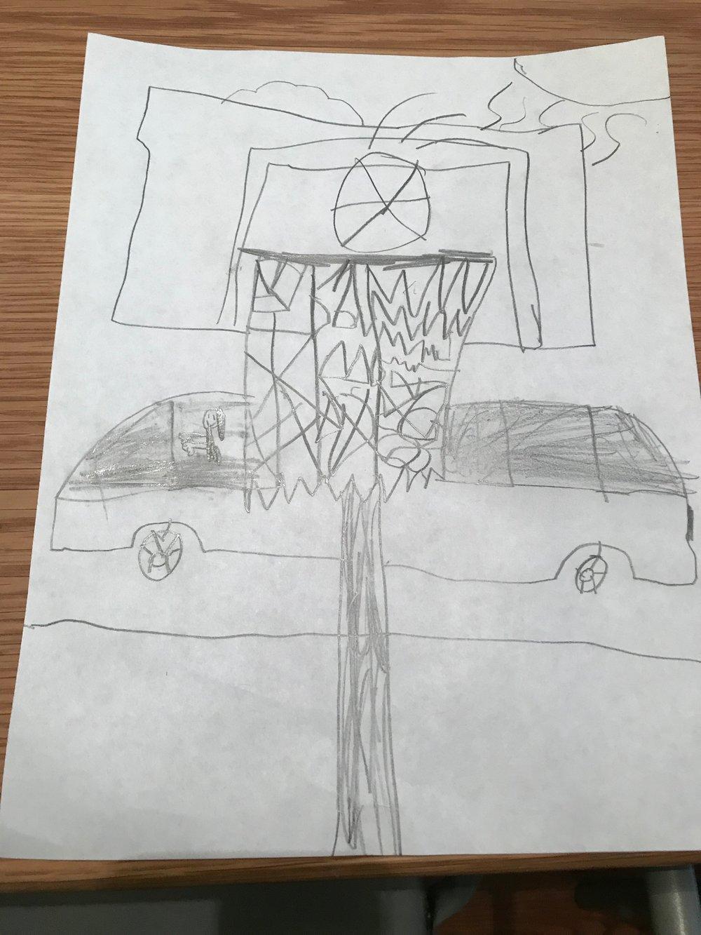 Imogen Oakes/ Basketball Hoop Design