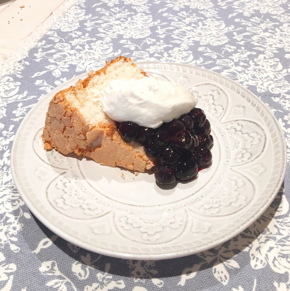 Haley Ogle/Lemon Angle Food Cake