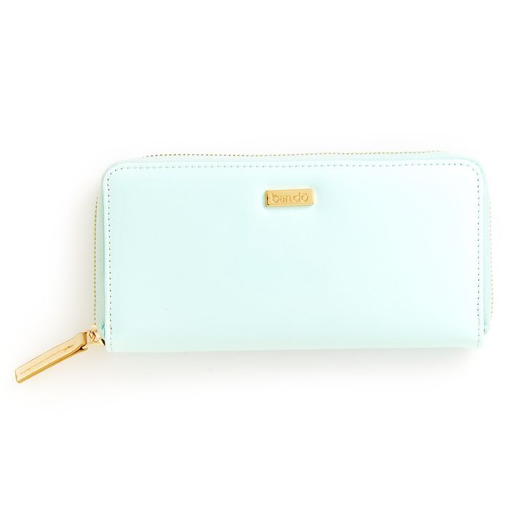Big Spender wallet in mermaid + metallic gold. (image via  bando.com )