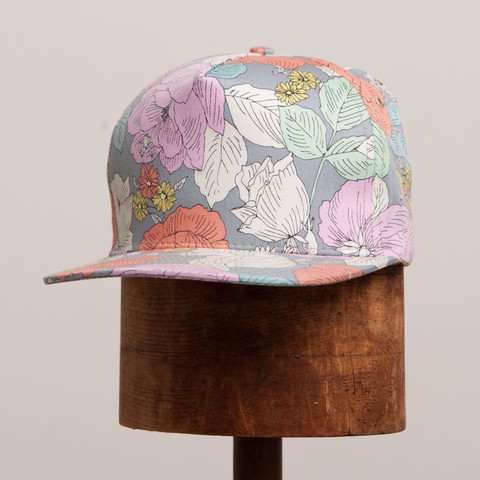 Love the Japanese fabrics on these 18 WAITS CASEY JONES CAP. (via northwoodgeneral.ca)
