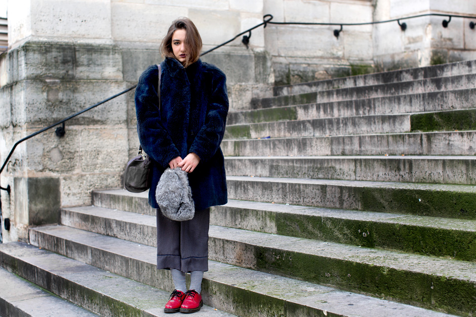 My Nana always said it is crucial to have a pair of red shoes. (image via thesartorialist)