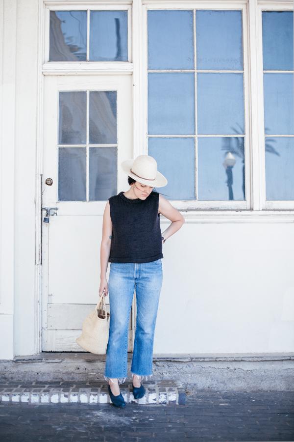 Vintage jeans. Inspo:  calivintage . (image via  calivintage.com )