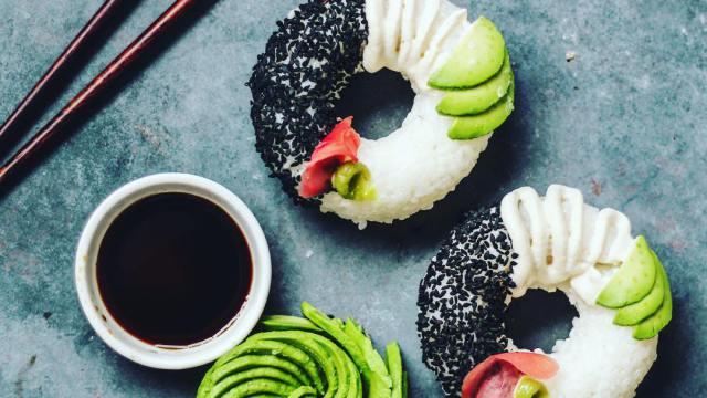 Or maybe I want a sushi doughnut? (via sobeautifullyraw/Instagram)