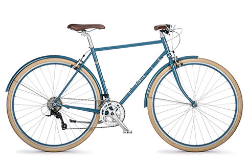 The R16  Flat Bar Road Bike looks great, too.  (image via  publicbikes.com )