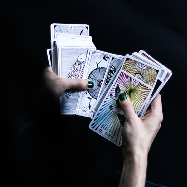 """Open your mind, draw a card, and have fun on your journey…"" (via  thewildunknown.com )"
