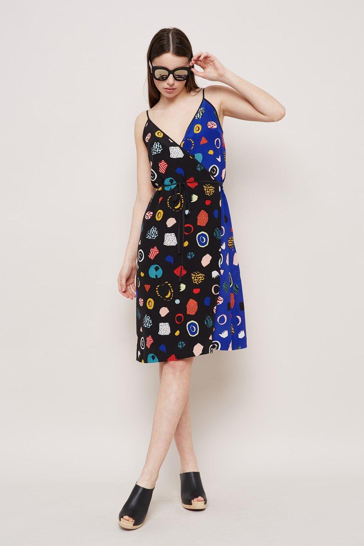 fleur noir et bleu dress (via gormanshop)