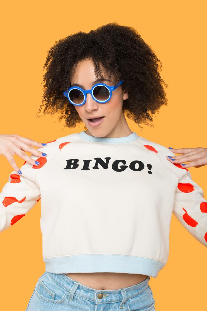 Bingo! Sweatshirt by  Tuesday Bassen .