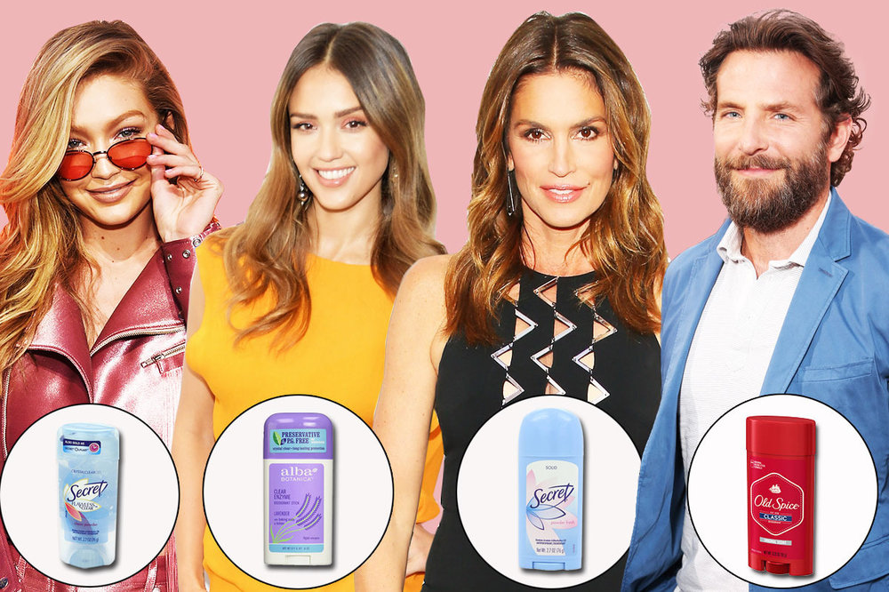 """""""19 Famous People on Their Favorite Deodorant"""""""