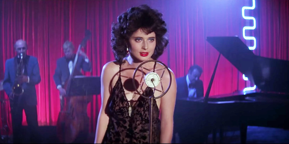 "I love Isabella Rossellini. (image via David Lynch's ""Blue Velvet"")"