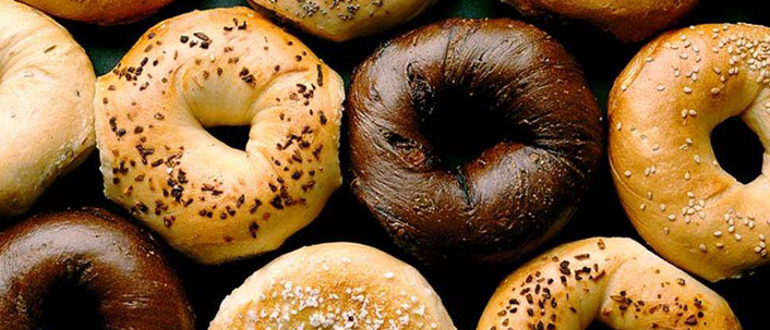A perfect New York bagel via Baltimore. (image via Goldberg's)