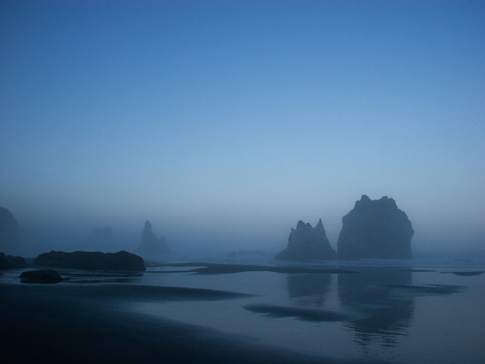 China Beach at Dawn