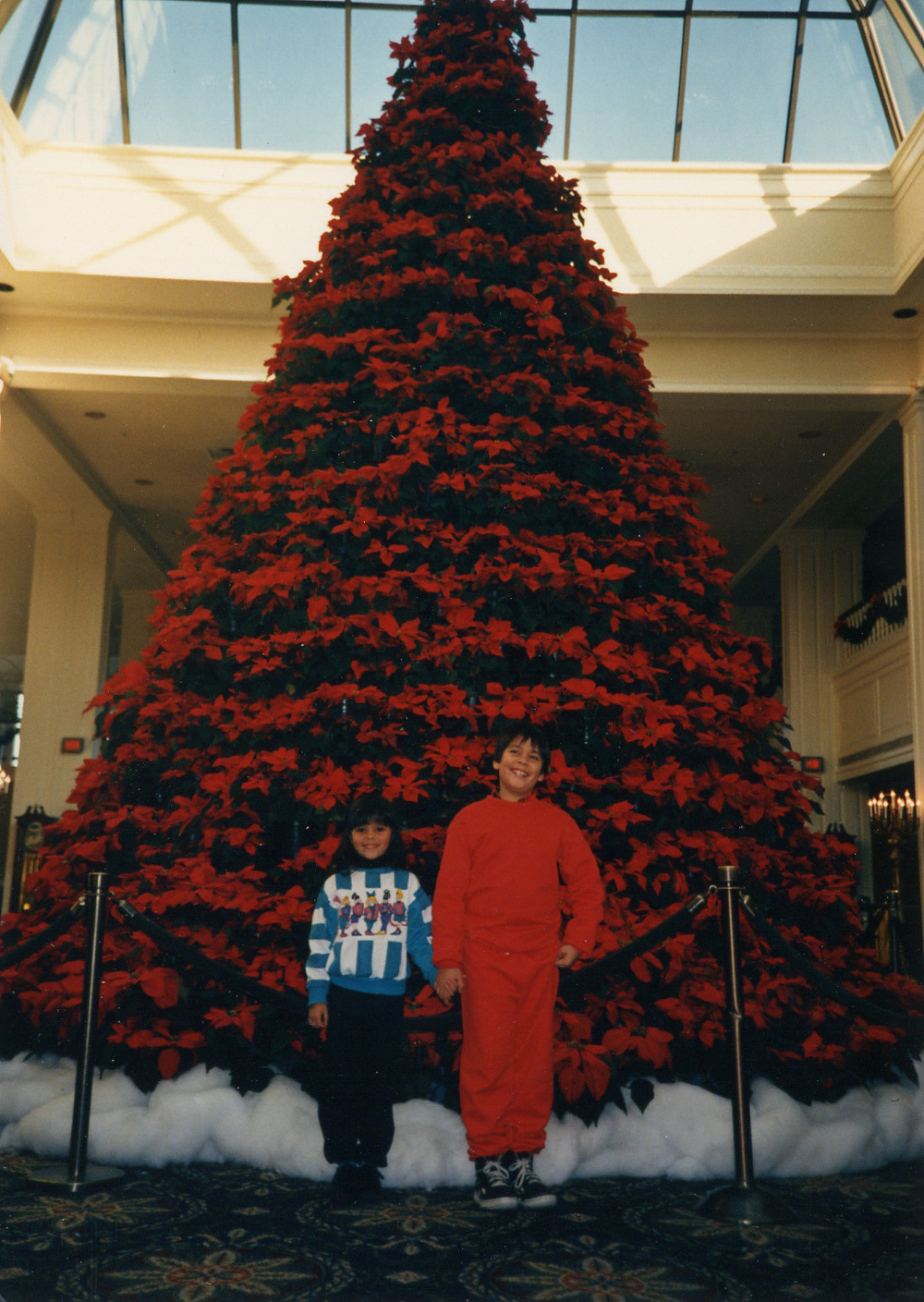 076 with Brandon in front of Xmas tree - Opryland.jpg