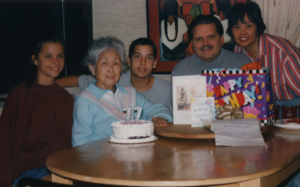 277 Grandma Josies 77th Bday Dec 96.jpg