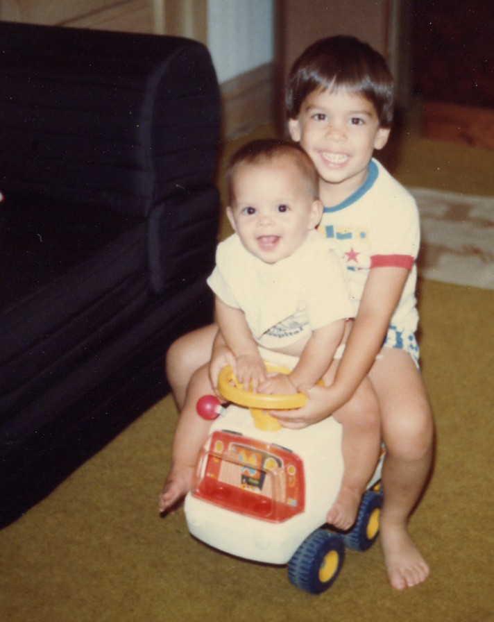 280 Brandon Sarah on toy car 1984.jpg