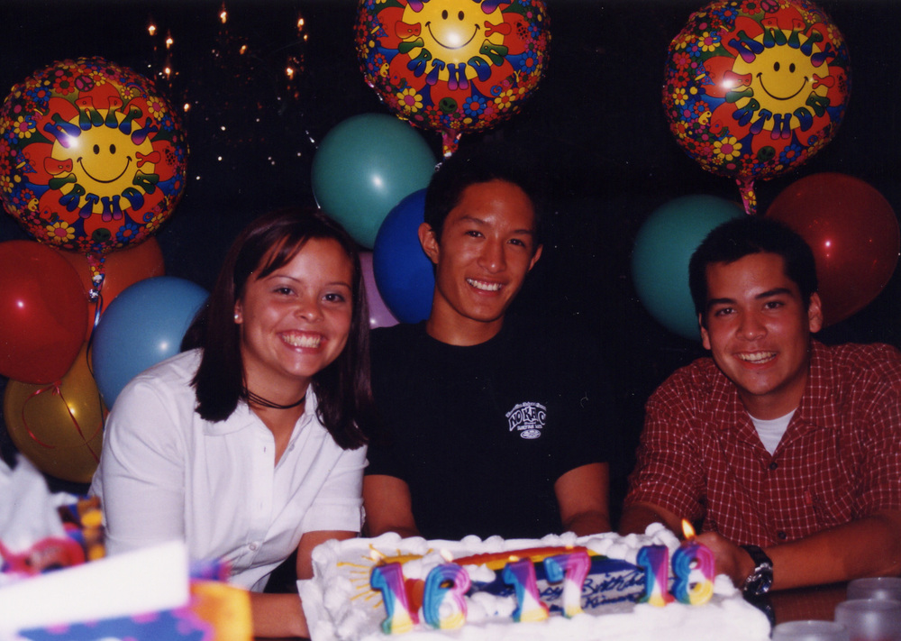 544 with Brandon and Kimo at combined birthday.jpg