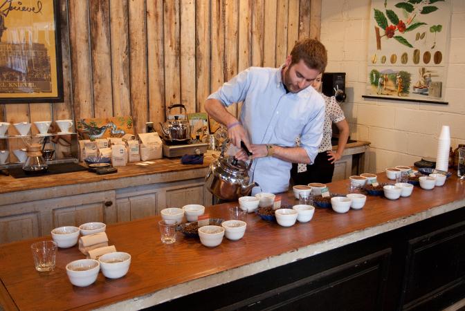 Stumptown Coffee Tasting