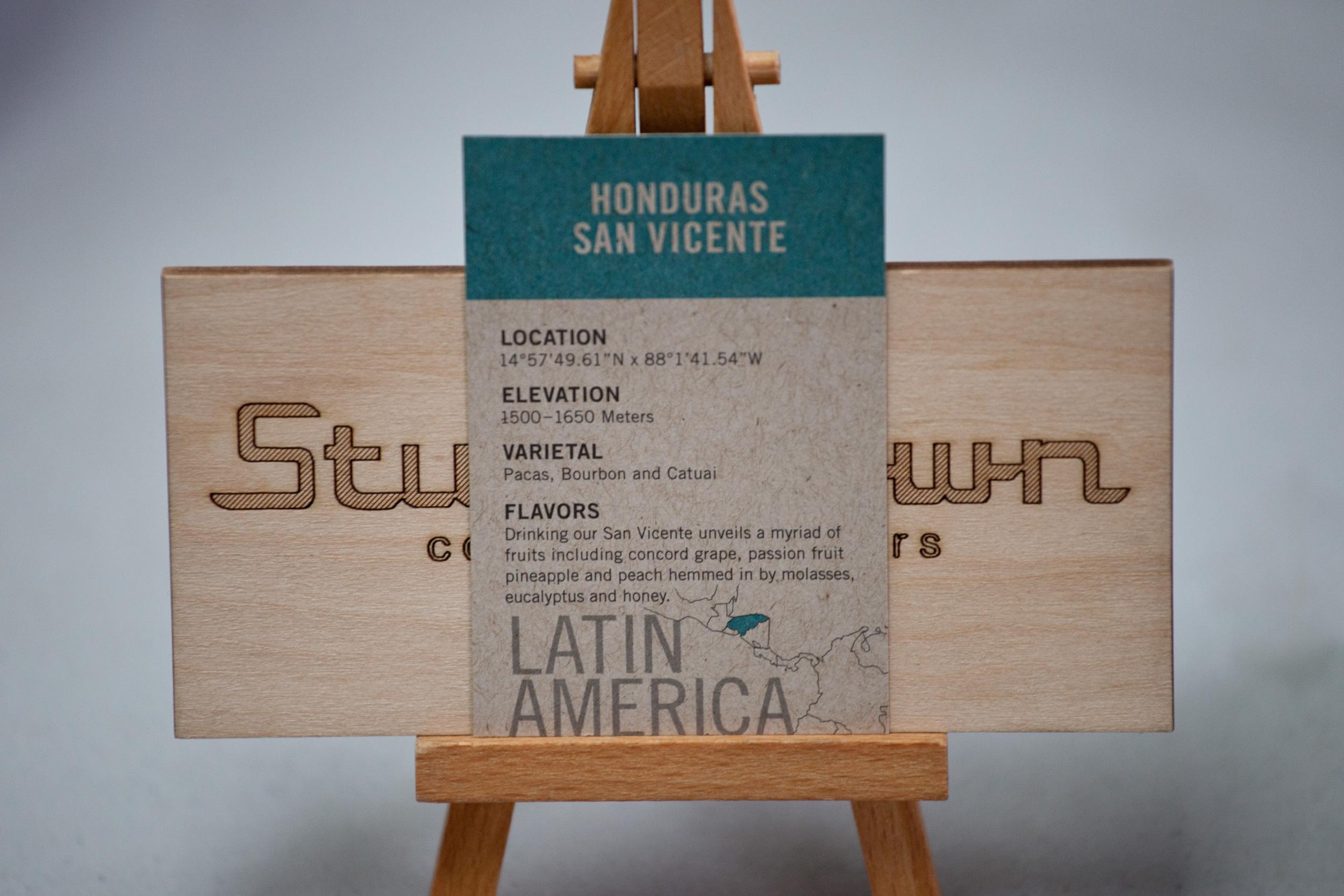 Stumptown Coffee Honduras San Vicente