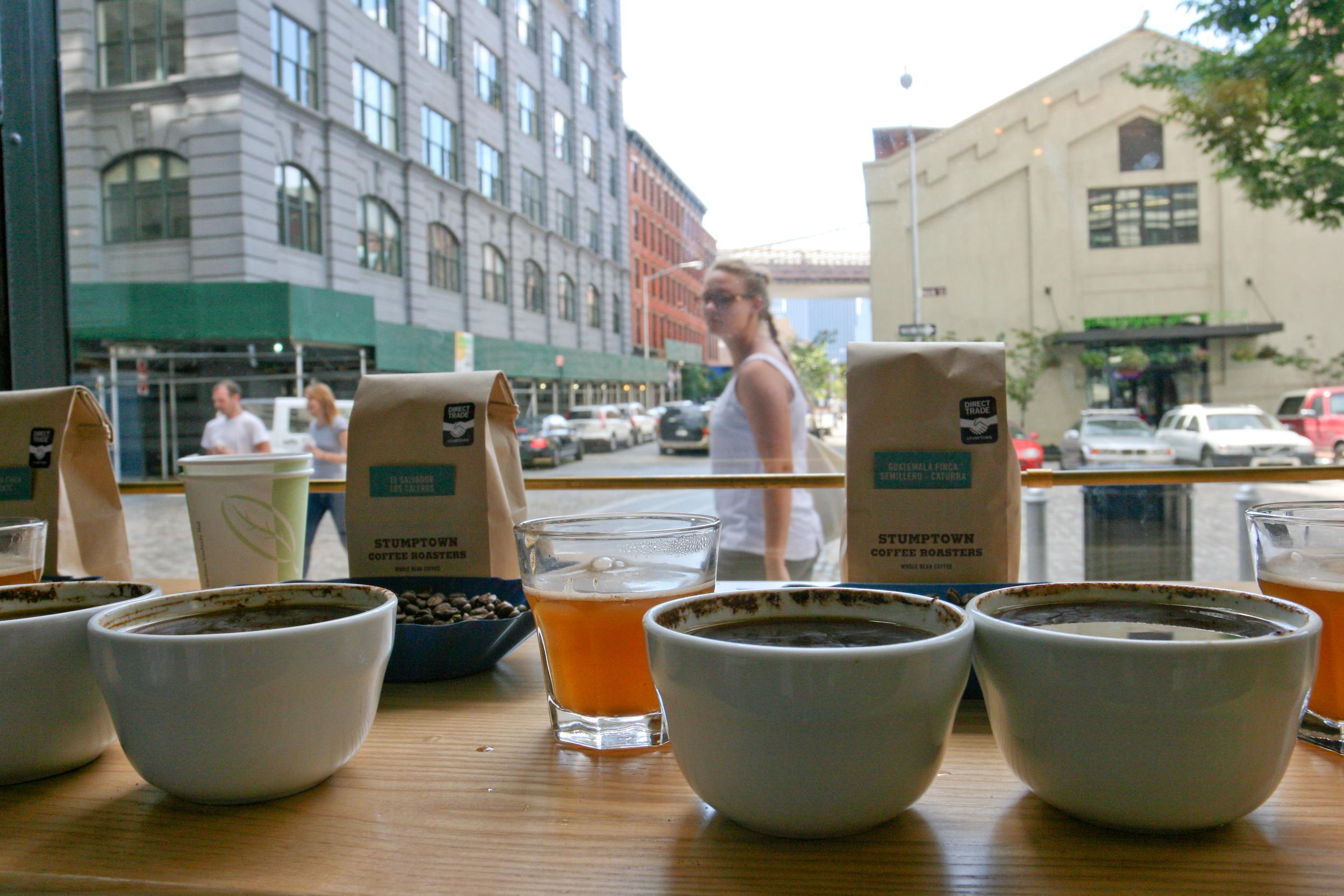 Stumptown Coffee Cupping
