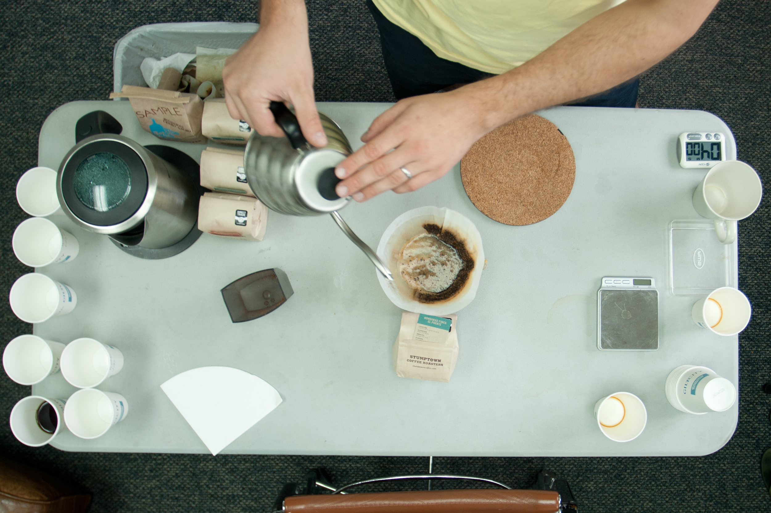 Stumptown Office Coffee Tasting