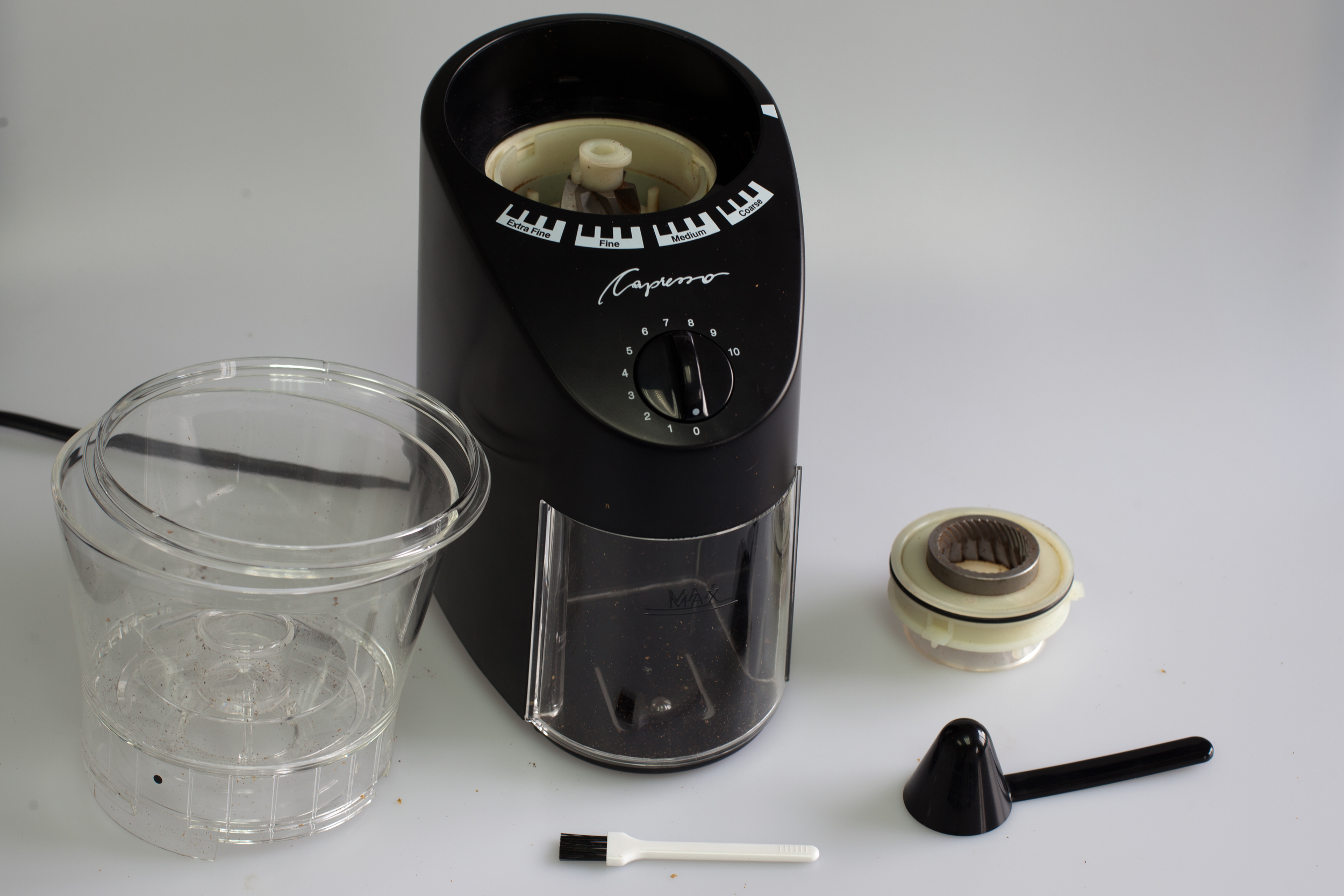 a review coffee grinder size to jura expand infinity of capresso traditional medium conical burr