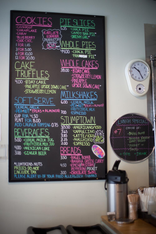Joyride Coffee, Momofuku Milk Bar