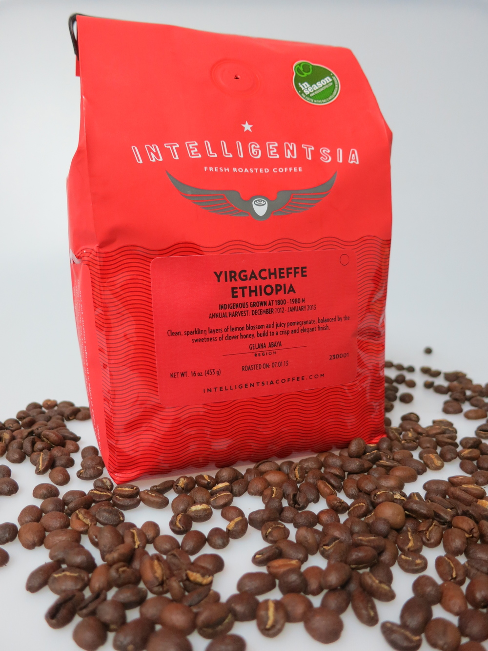 Joyride Coffee, Intelligentsia Yirgacheffe