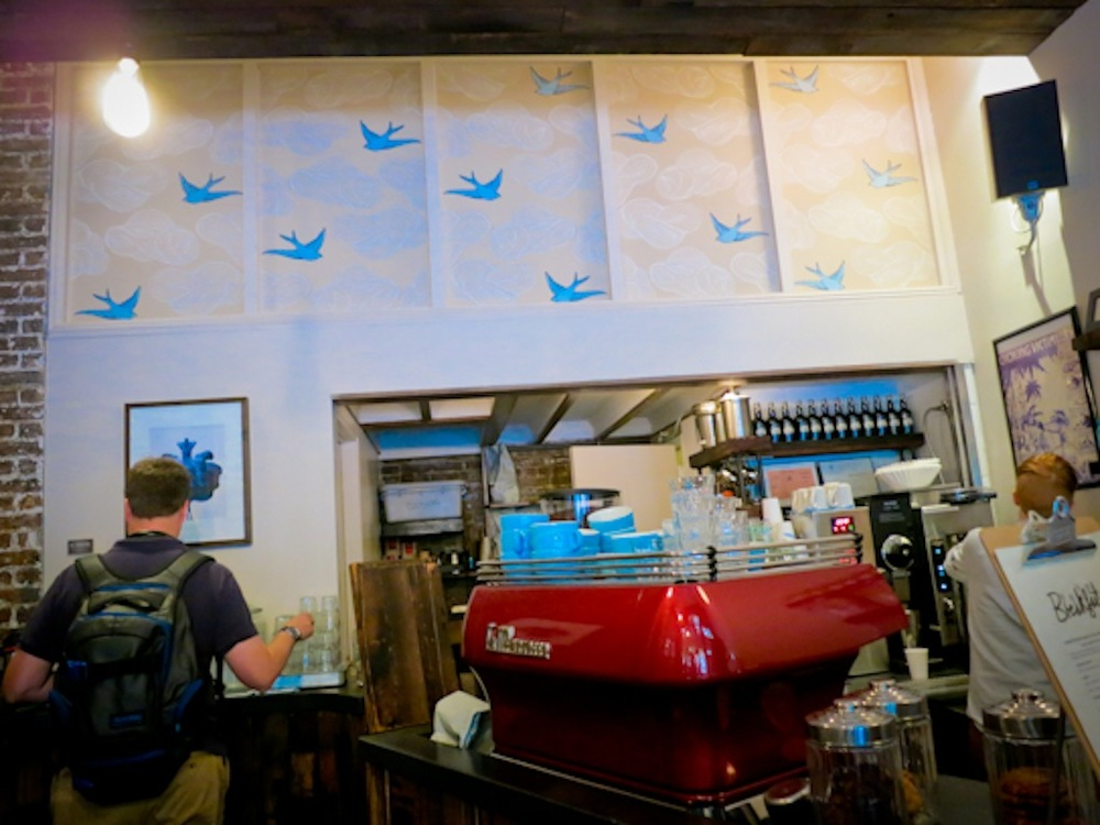 Joyride Coffee, Bluebird Coffee