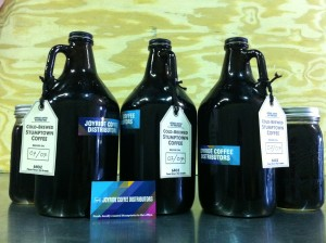 Stumptown Coffee Cold Brew Growlers