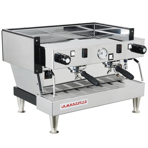 "A La Marzocco Linea EE, known as a cafe ""workhorse"" but for an office, they can be tough to manage."