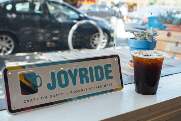 Joyride is perhaps the easiest way to increase your office sustainability