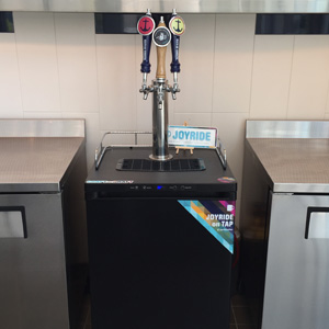 A Joyride Craft on Draft setup in San Diego!