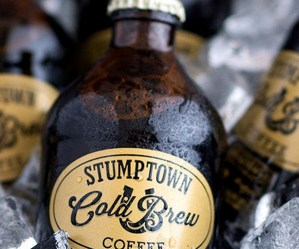 Stumptown cold brew and hot coffee options are available through Joyride, in New York, Los Angeles, San Francisco and Boston!