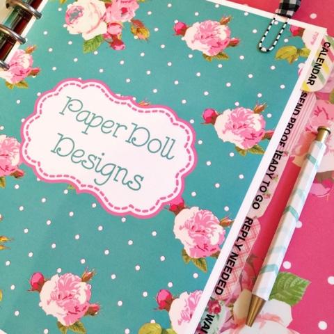 paperdoll designs binder