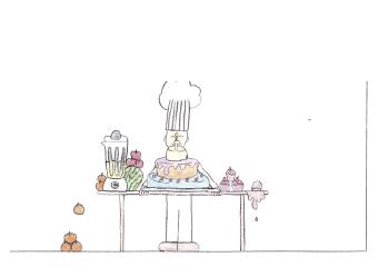 Quando eu crescer quero ser um mestre confeiteiro de nome internacional, vou preparar sucos gostosos e saudáveis. Mas para isso devo me alimentar bem e praticar esportes, pois sem isso não conseguirei fazer nada.  EIM Doutor Blumenau Matheus H. Gieseler 5° ano - 10 anos