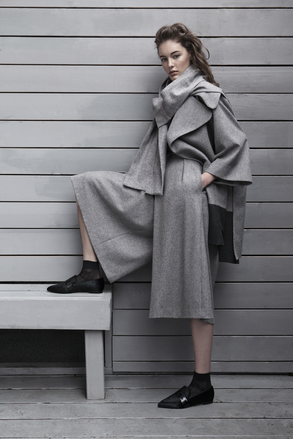 - Grey Capsule ....Capsule #1 brings together ten refined pieces in shades of grey that are effortless, relaxed and easy to mix and match. Chic with notes of modern femininity, these neutral hues are versatile and offer endless possibilities in a women's wardrobe. In this collection, sumptuous textures in an assemblage of greys are tailored with meticulous craftsmanship to bring forth studied, contemporary silhouettes of enduring appeal. ..    Normal 0   21   false false false  EN-US JA X-NONE                                                                                                                                                                                         /* Style Definitions */ table.MsoNormalTable 	{mso-style-name: