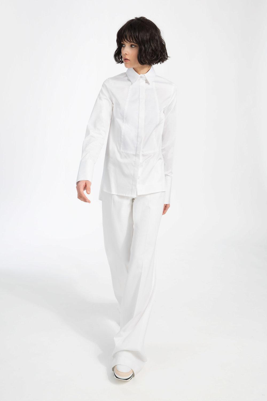 Anderson - ....Cotton tuxedo shirt..Chemise style tuxedo....