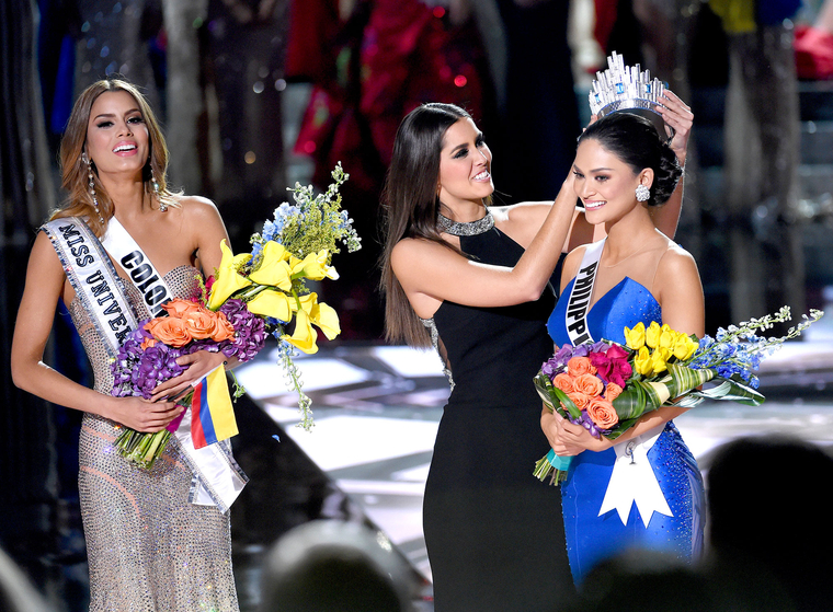 I felt like Miss Colombia, cheated on.I had a glimpse of the crown only to have it taken away from me.