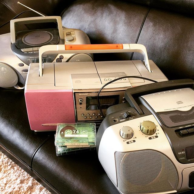 Ancient artifacts... #cassettes #tape