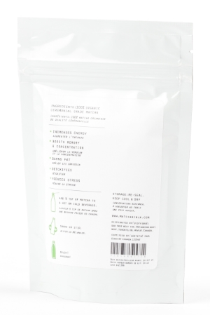 70 Serving Pouch Raw Organic Matcha