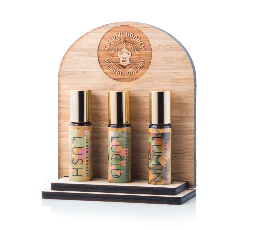 Lush | Lumin | Lucid Aromatherapy Line