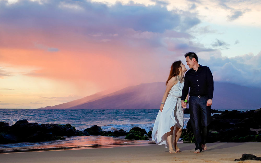 Romantic Session Photography Hawaii